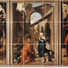 Durer Religious Tiles Kitchen Wall Home Traditional Decorating