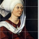 Durer Women Murals Tile Bathroom Wall Ideas Remodel Residential