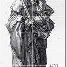 Durer Illustration Room Mural Tile Renovations Commercial Ideas