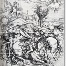 Durer Illustration Room Mural Dining Tile Home Ideas Remodeling