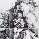 Durer Illustration Bathroom Mural Shower Tile Wall House Modern