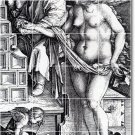 Durer Illustration Bathroom Tiles Floor Design House Remodeling