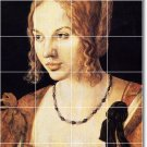 Durer Women Wall Dining Room Mural Tile Renovate Interior Decor