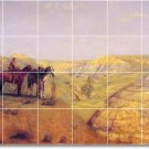 Eakins Western Dining Room Floor Mural Decorating Commercial Idea