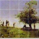 Eakins Country Dining Floor Mural Room Idea Decorating Commercial