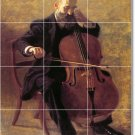 Eakins Music Tiles Mural Wall Kitchen Decorate House Remodeling