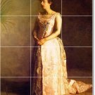 Eakins Women Tiles Wall Kitchen Mural Decorate Remodeling House