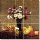 Fantin-Latour Fruit Vegetables Room Murals Modern Design Interior