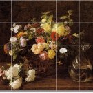 Fantin-Latour Flowers Murals Floor Kitchen Remodel House Ideas