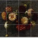 Fantin-Latour Flowers Room Murals Floor Idea Decorating House