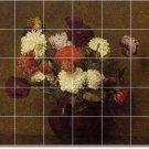 Fantin-Latour Fruit Vegetables Shower Tiles Wall Mural Remodeling