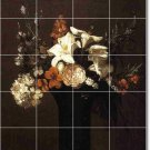Fantin-Latour Flowers Floor Kitchen Tiles Modern Construction