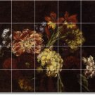 Fantin-Latour Flowers Tiles Bathroom Renovations House Modern