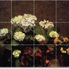 Fantin-Latour Flowers Bedroom Tile Wall Murals Renovate Ideas