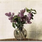 Fantin-Latour Flowers Shower Mural Wall House Renovate Decor