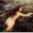 Fantin-Latour Nudes Mural Living Room Tiles Wall Renovate Design