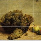 Fantin-Latour Fruit Vegetables Wall Shower Tile Murals Commercial