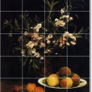 Fantin-Latour Fruit Vegetables Bedroom Mural Tile Renovate Modern