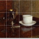 Fantin-Latour Still Life Wall Tile Room Mural Home Design