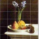 Fantin-Latour Fruit Vegetables Tile Room Mural Dining Floor Decor