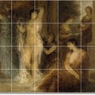 Fantin-Latour Nudes Bathroom Mural Shower Tile Wall House Modern