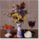 Fantin-Latour Still Life Mural Bedroom Floor Decor Decor