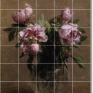 Fantin-Latour Flowers Floor Wall Bathroom Murals Home Modern