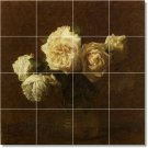 Fantin-Latour Flowers Wall Wall Room Murals Modern Remodel Floor