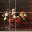 Fantin-Latour Flowers Wall Murals Wall Room Remodel Modern Floor