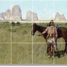 Farny Indians Room Mural Tile Design Idea Commercial Remodeling