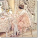 Frieseke Women Tiles Room Living Floor Remodeling Modern Interior