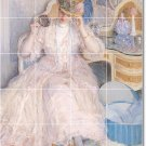Frieseke Women Room Tile Mural Dining Interior Design Renovations