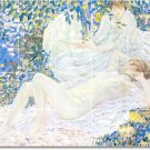 Frieseke Nudes Tile Room Wall Dining Remodeling Design House Idea