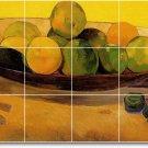 Gauguin Fruit Vegetables Room Tile Idea House Remodeling