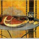 Gauguin Still Life Mural Backsplash Tile Wall Interior Renovate