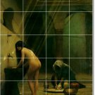 Gerome Nudes Wall Tile Dining Mural Room Interior Modern Design