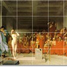 Gerome Nudes Wall Tile Room Dining Mural Interior Design Modern