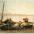 Gerome Waterfront Mural Dining Tiles Room Modern Renovation Home