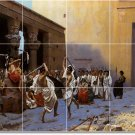Gerome Dancers Dining Tile Room Mural Construction Decorate House