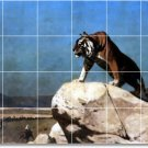 Gerome Animals Tile Mural Wall Room Home Remodeling Idea Decorate
