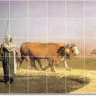 Gerome Animals Tiles Mural Room Floor Residential Decorating Idea