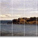 Gifford Waterfront Mural Tiles Floor Room House Idea Decorating