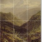 Gifford Landscapes Tiles Room Mural Floor Decorating Idea House