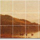 Gifford Waterfront Tiles Floor Room Mural Idea House Decorating