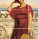 Godward Women Bedroom Tile Mural Contemporary Renovate Interior