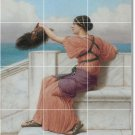 Godward Women Room Tiles Floor Mural Traditional House Decorate