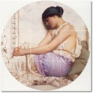 Godward Women Room Tiles Mural Floor Traditional Decorate House