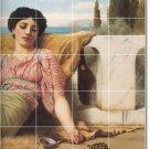 Godward Women Mural Floor Room Tiles Idea Commercial Decorating