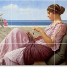Godward Women Room Wall Mural Tiles Decorating Residential Idea