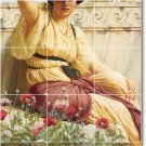 Godward Women Room Wall Tiles Mural Decorating Idea Residential